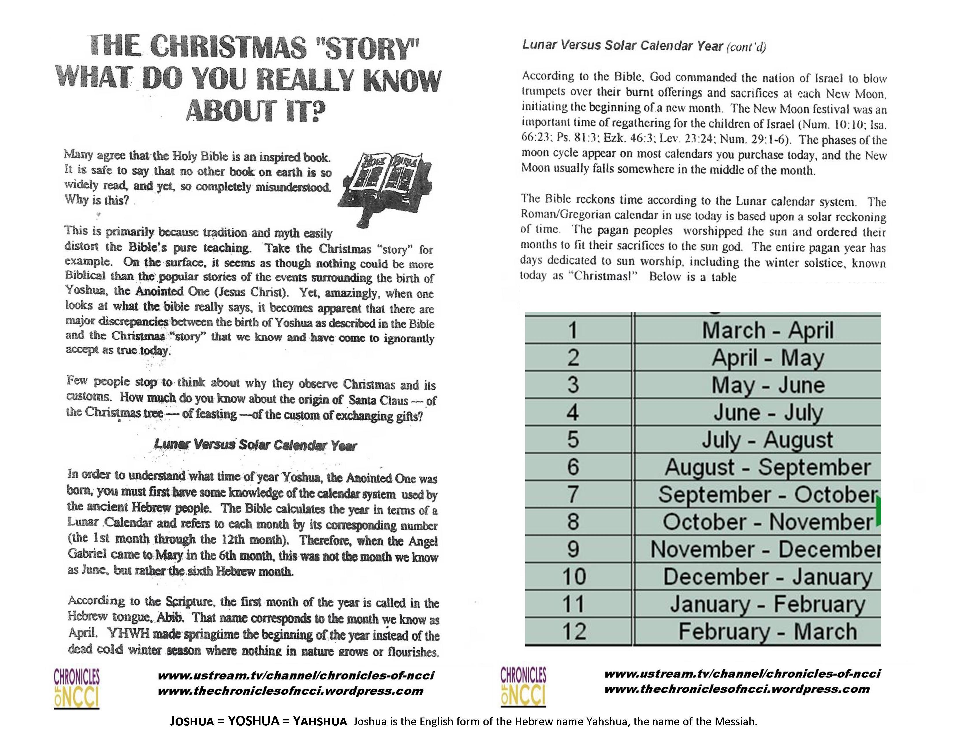 Christmas | The Chronicles of NCCI
