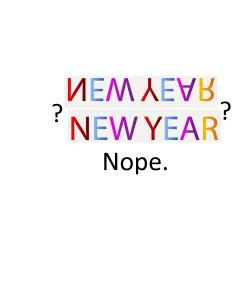 new year nope
