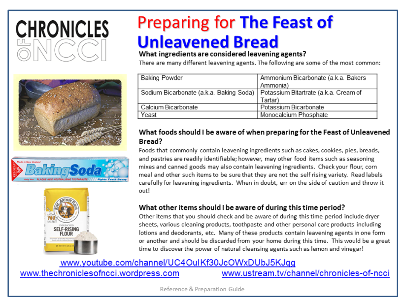 Unleavened Bread Prep 2