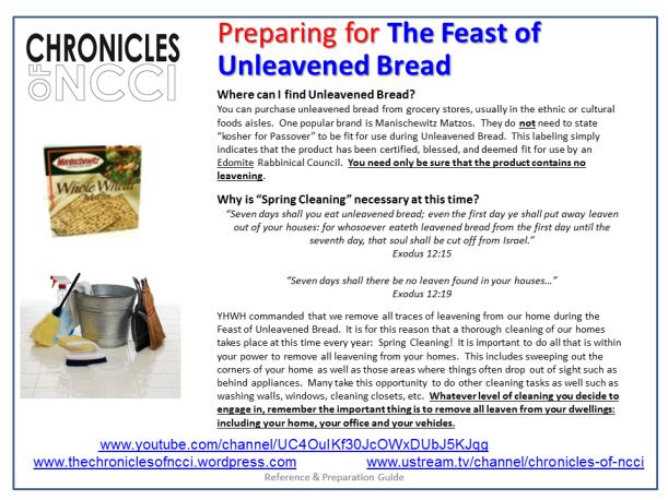 Unleavened Bread Prep 3