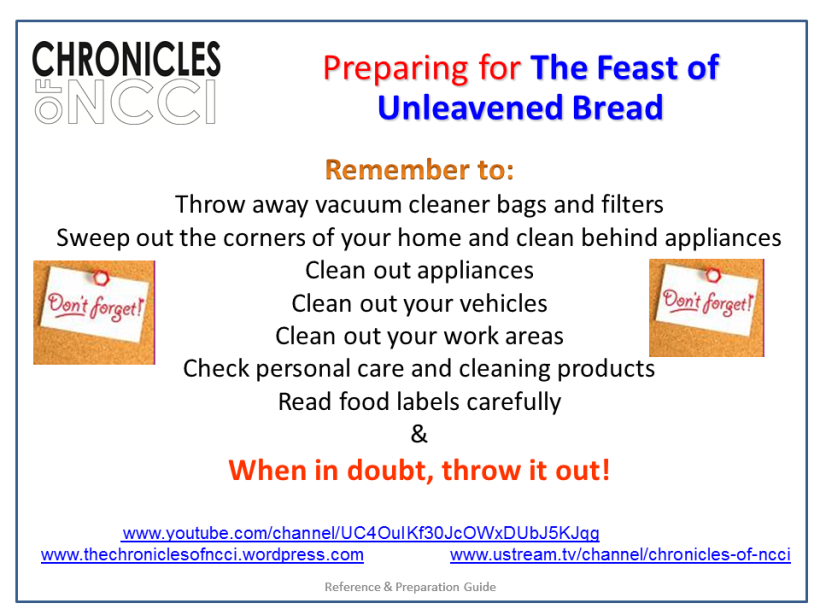 Unleavened Bread Prep 4
