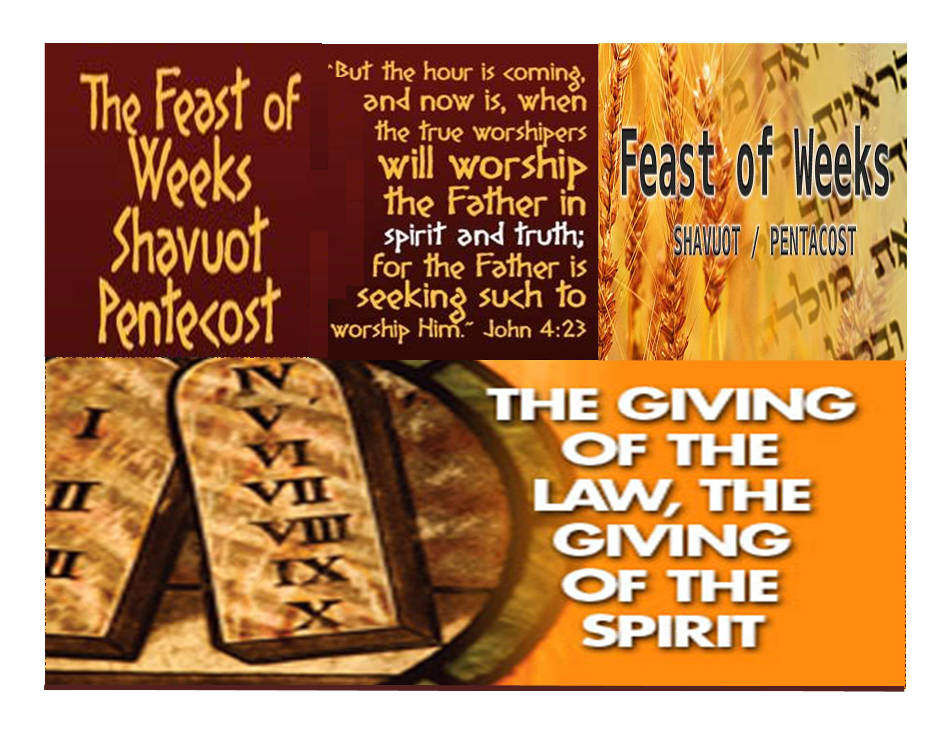 Feast of Pentecost / Feast of Weeks | The Chronicles of NCCI